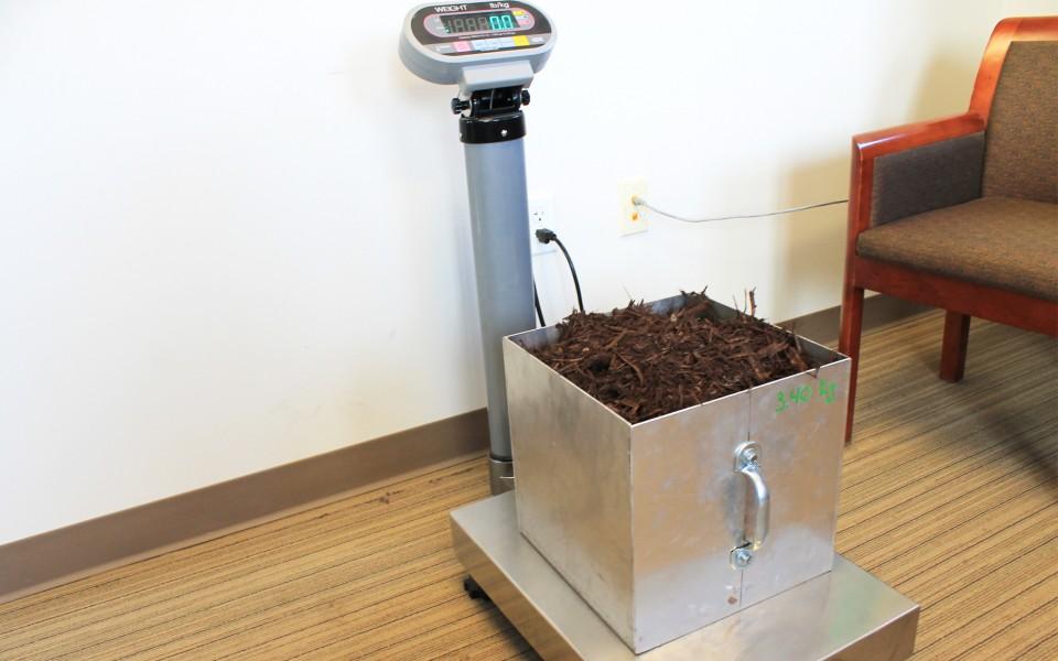 Hughes Mulch quality control equipment
